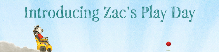Introducing Zac's Play Day e-book